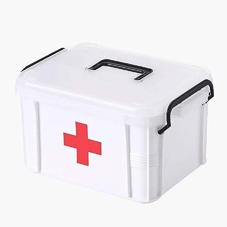 Botiquín de Primeros Auxilios Medicina plástico envase de la caja ...