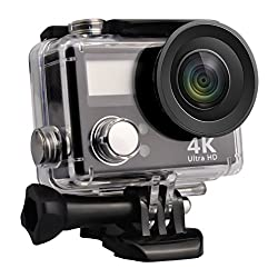 Sport Action Camera, Greatic Waterproof Action Camera Pp-v3 Hd 4k Wifi Waterproof Sports Camera With 2 Inch Display Screen