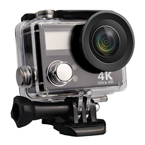 Sport Action Camera, Greatic Waterproof Action Camera PP-V3 HD 4K Wifi Waterproof Sports Camera with 2 inch Display Screen