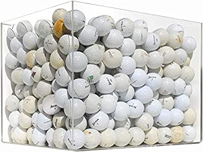 100 Ball Mesh Bag Hit Away Practice Used Golf Balls from Unknown