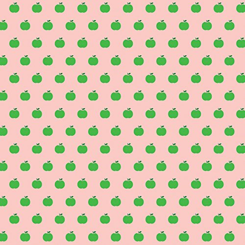 wallcandy-arts-removable-wallpaper-apple-pink-green
