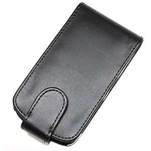 So'axess HOUHTDESS-01 - Funda con tapa para HTC Desire S, color negro