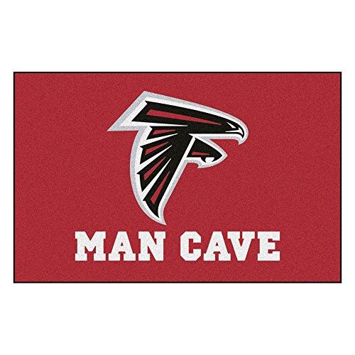 FANMATS 14265 NFL Atlanta Falcons Nylon Universal Man Cave Starter Rug ()