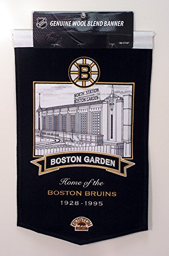 Winning Streak NHL Boston Bruins Boston Garden Stadium Banner