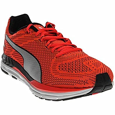 bcf24dd14791 Puma Speed 600 Ignite Men Round Toe Synthetic Red Sneakers  Buy Online at  Low Prices in India - Amazon.in