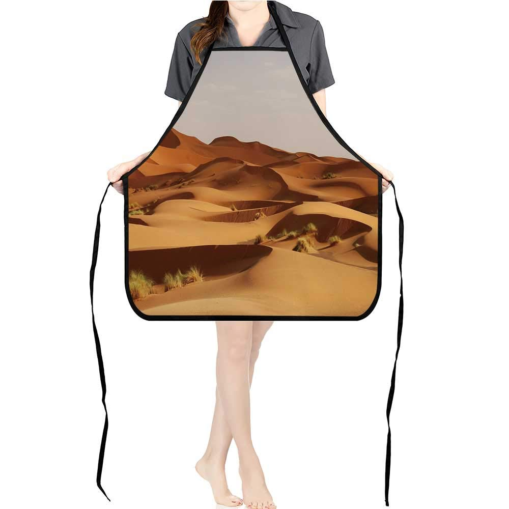 Jiahong パンプロフェッショナルよだれかけエプロン サガロ マザル 山脈 ソナー 砂漠 キッチンエプロン K17.7