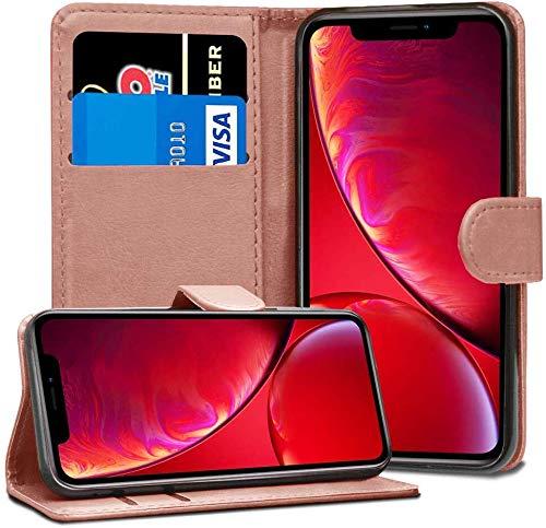 ASD Accessories iPhone 8 Plus Wallet Flip Case – Leather Premium Folio Phone Cover [Kickstand] [Cash & Card Slots…