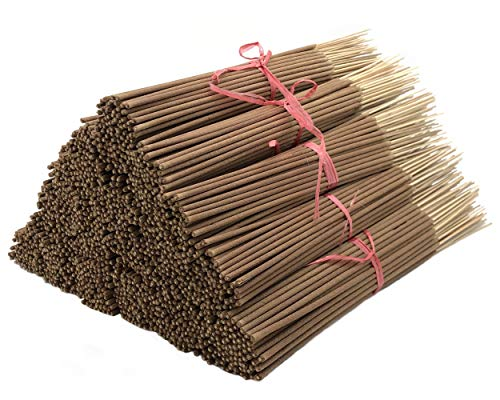 Patchouli Incense Sticks, 185 Grams in Each Bundle 85 to 100, Premium Quality Smooth and Clean, Each Stick is 10.5 Inches Long Burn Time is 45 to 60 Minutes Each.