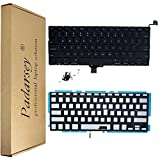 Padarsey New Laptop Replacement Keyboard with Backlight Backlit for MacBook Pro 13-inch A1278 2008-2015 Year with 80Pce Keyboard Screws