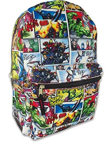 Marvel Avengers Backpack Comic Print