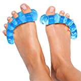 Original YogaToes - Small Sapphire Blue: Toe Stretcher & Separator. Fight Bunions, Hammer Toes, Foot Pain & More!