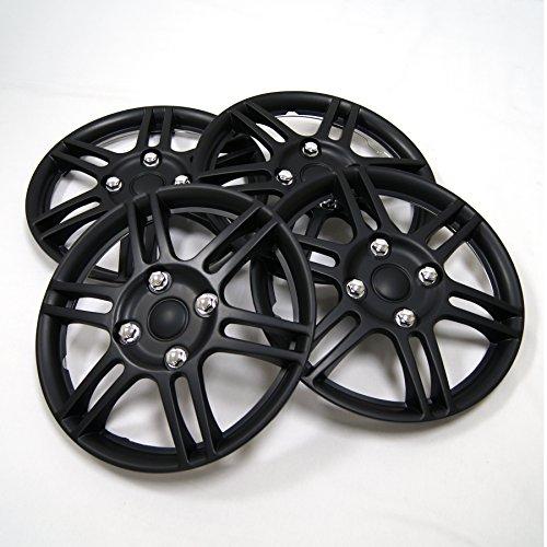 Buy 14 inch hubcaps set of 4 black