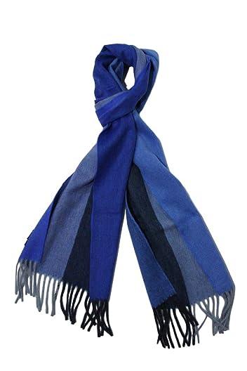 Wool Angora Scarf ALLAA 18752: Blue