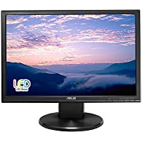 ASUS VW199T-P 19 WXGA+ 1440x900 DVI VGA Back-lit LED Monitor