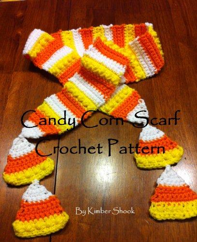 Candy Corn Scarf Crochet Pattern -