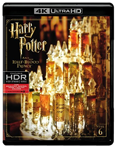 Harry Potter and the Half Blood Prince (4K Ultra HD + Blu-ray) (Harry Potter Collection 8pk 4k Ultra Hd Digital)