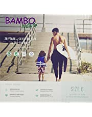 Bambo Nature Eco Friendly Baby Diapers Classic for Sensitive Skin, Size 6 , 22 Count, Pack of 2
