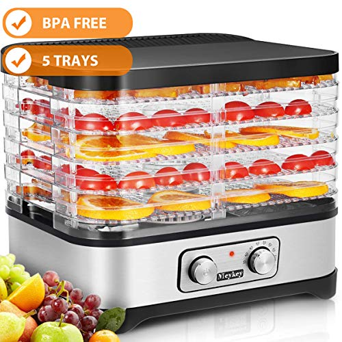 Food Dehydrator Machine, 5 Dryer Trays -BPA Free Drying for sale  Delivered anywhere in USA