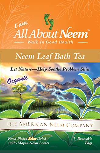 photo Wallpaper of All About Neem, Inc.-Neem Leaf Tub Tea Bags  Soothe Skin Problems Nature's Way! (7-
