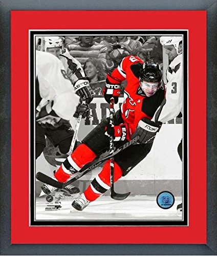 (Zach Parise New Jersey Devils NHL Spotlight Action Photo (Size: 26.5