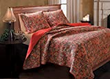 Greenland Home 2-Piece Persian Quilt Set, Twin