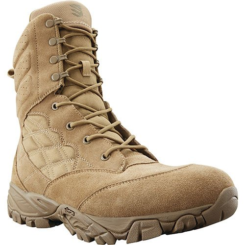 BLACKHAWK! Defense Coyote 498 BT04CY095M Military Grade Boots 9.5 M/NATO Lace, Clear