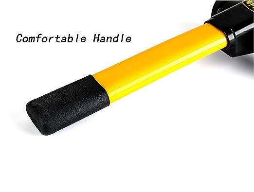 Vzer Universal Sicherheit Anti Diebstahl Roll-Heavy Duty KFZ LENKRADSCHLOSS mit Fensterhammer und 3 Schl/üsseln