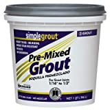 Simple Grout PMG180QT 1 Quart Sandstone Pre Mixed Grout