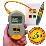 Triplett / Byte Brothers RWC1000K(CS) CAT5 CAT5e CAT6 Cable Verifier with Printable Reports