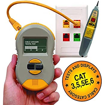 Triplett Byte Brothers Ctx200 Pocket Cat Lan Tester For