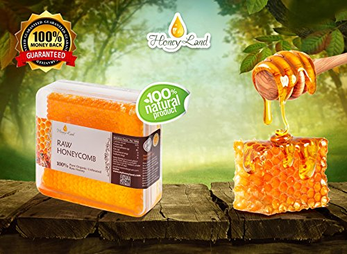 Honey Land 100 Pure Raw Unfiltered Honey Comb Honeycomb