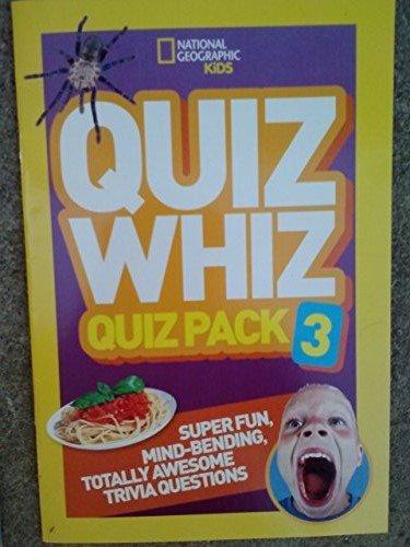 National Geographic Kids Quiz Whiz Pack 3 PDF