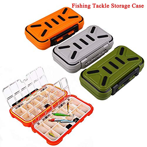 (Tackle Tool Fishing Box Storage Fish Waterproof Accessories for Bait Lure)