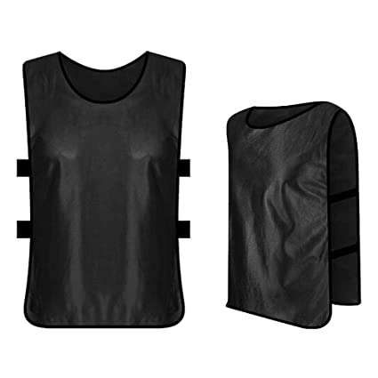 a19d92dc6 Buy Docooler 6 PCS Adults Soccer Pinnies Quick Drying Football Jerseys  Sports Scrimmage Practice Sports Vest Team Training Bibs Online at Low  Prices in ...
