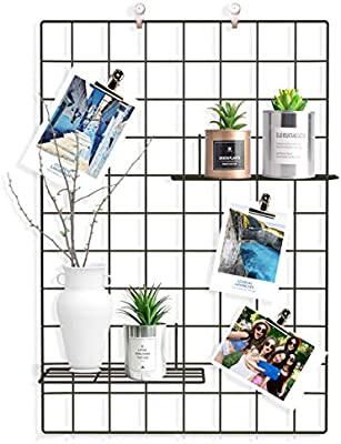 amazon com pulatree grid photo wall set of 2 grid panel