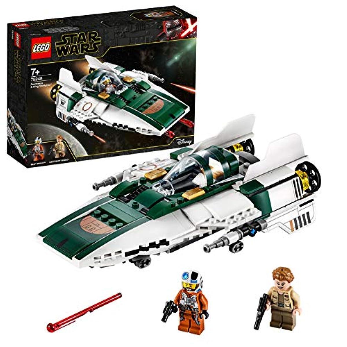 [해외] 레고(LEGO) 스타워즈 레지스탕스 A-윙스타 파이터 75248