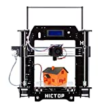 "[New Arrival] HICTOP Filament Monitor Desktop 3D Printer Kits Reprap Prusa I3 MK8 DIY Self-assembly Printing size 10.6"" x 8.3"" x 7.7"""