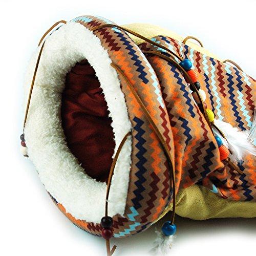 Cat Crinkle Sack Pets Sleep Zone Cat Sleeping Bed AFP Best