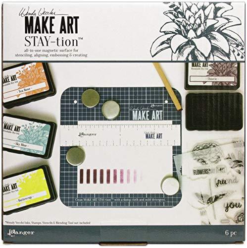 Wendy Vecchi MAKE ART STAY-TION 7 INCH, None