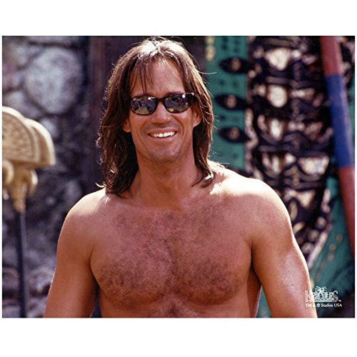 Kevin Sorbo 8 inch x10 Inch Photo Hercules: The Legendary Journeys Andomeda Shirtless Sunglasses Perfect Smile WOW! - Sunglasses Legendary