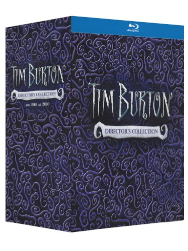 Tim Burton Collection - 14-Disc Box Set ( Pee-wee's Big Adventure / Beetlejuice / Batman / Edward Scissorhands / Batman Returns / Ed Wood / Mars Attacks! / Sleepy [ Blu-Ray, Reg.A/B/C Import - Italy ]