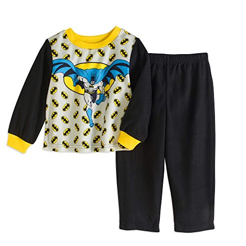 Licensed Characters Batman Toddler Pajama 2T