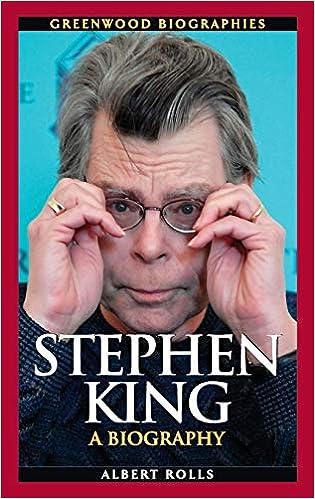Amazon Com Stephen King A Biography Greenwood Biographies 9780313345722 Rolls Albert Books