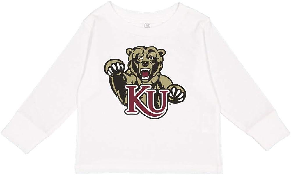 NCAA Kutztown Bears PPKUP02 Toddler Long-Sleeve T-Shirt