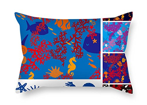 12 X 20 Inches / 30 By 50 Cm Color Block Throw Pillow Case Twice Sides Is Fit For Lounge Kids Boys Outdoor Bar Seat Bedding (Baby Blocks Pillowcase)
