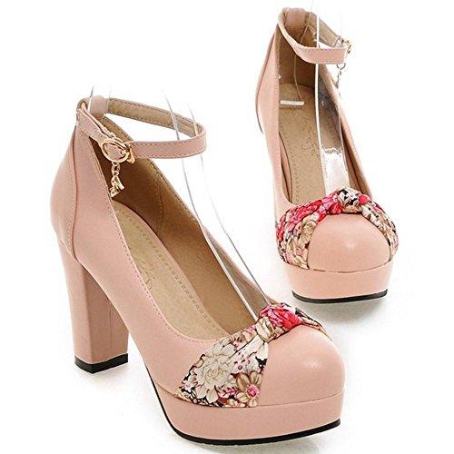 Pumps Fashion Pink High Heel KemeKiss Women 5gIw54