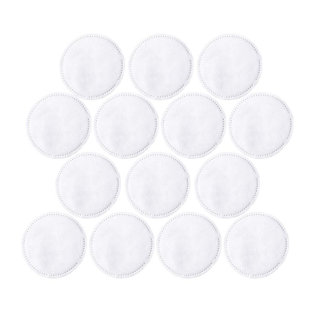 Lurrose 300pcs Coton à Démaquiller 3 Couches Tampons Lingettes Visage Maquillage Serviette De Nettoyage Visage avec un Sac