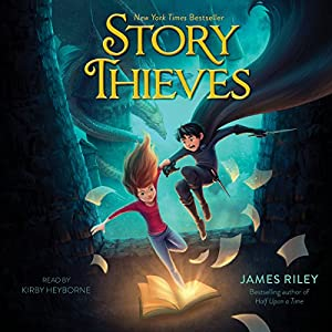 Story Thieves Audiobook