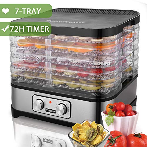 Food Dehydrator Machine by Electricity,7 Trays/Knob Button/2