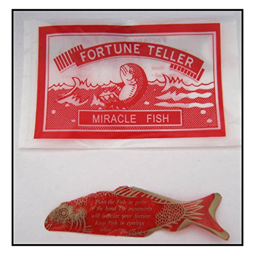 24 Kids Birthday Party Favors Prizes Magic FORTUNE TELLER Telling FISH Top Selling Item